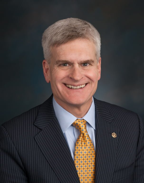 "U. S. Sen. Cassidy deflects on defending his $500 billion bailout to ""emotional issue"" of ""the thin blue line"" of impending Shreveport police officer layoffs."