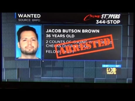 "The ""other"" Jacob Brown, alleged issuer of $180,000 in NSF checks to the State, faces criminal trial on Wednesday.  We'll be there!"