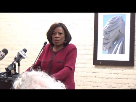 EBRP Mayor Broome lets business and civic supporters do heavy lifting on touting her proposed 1/2 cent sales tax, but struggles with questions about concerns of U. S. Congressman Graves, Central residents, State Representative C. Denise Marcelle.