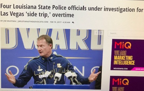 Former LSP Col. Mike Edmonson's final gift to Louisiana taxpayers:  massive legacy pension costs resulting from questionably-legal 35% trooper pay raises.