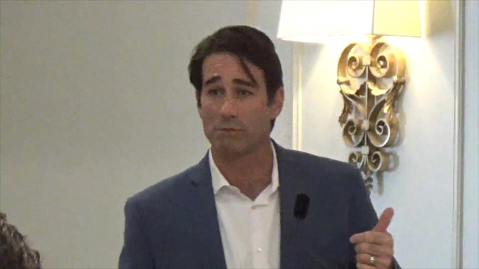 "Congressman Garret Graves states desire to take control of President Trump's Twitter account but praises his wisdom of ""spending millions today to avoid spending billions tomorrow"" on flood mitigation projects in Louisiana."