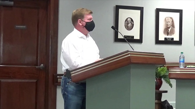 """Broussard's attorney accuses St. Martin Parish Government & President Cedars of engaging in a """"crusade"""" to """"harass"""" him; uses its own sworn testimony to refute validity of zoning ordinance."""