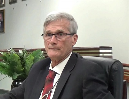 """St. Martin Parish President Cedars deals with Broussard's 33-acre """"nuisance"""" property by obtaining Court Restraining Order and grilling him on hay operations."""